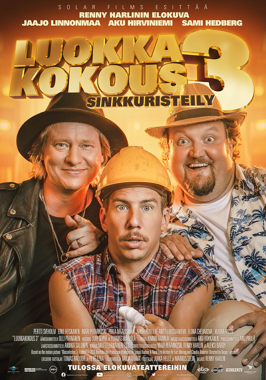 Renny Harlinin ohjaama Luokkakokous 3 -elokuva Kangasala-talon K-Kinossa elokuussa 2021.