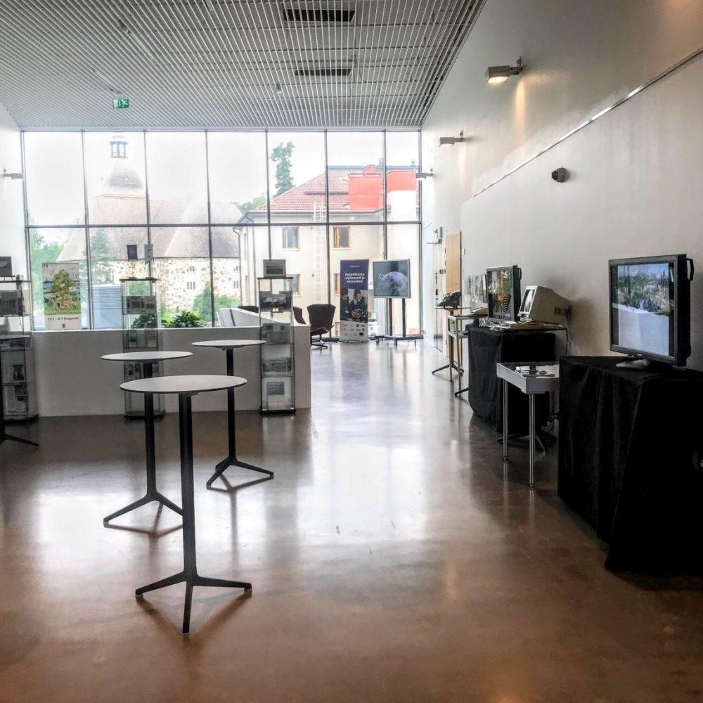 ABC-IT 2021 – Aapiskukko Tietoaikaan -näyttely Kangasala-talossa 18.-31.8.2021.