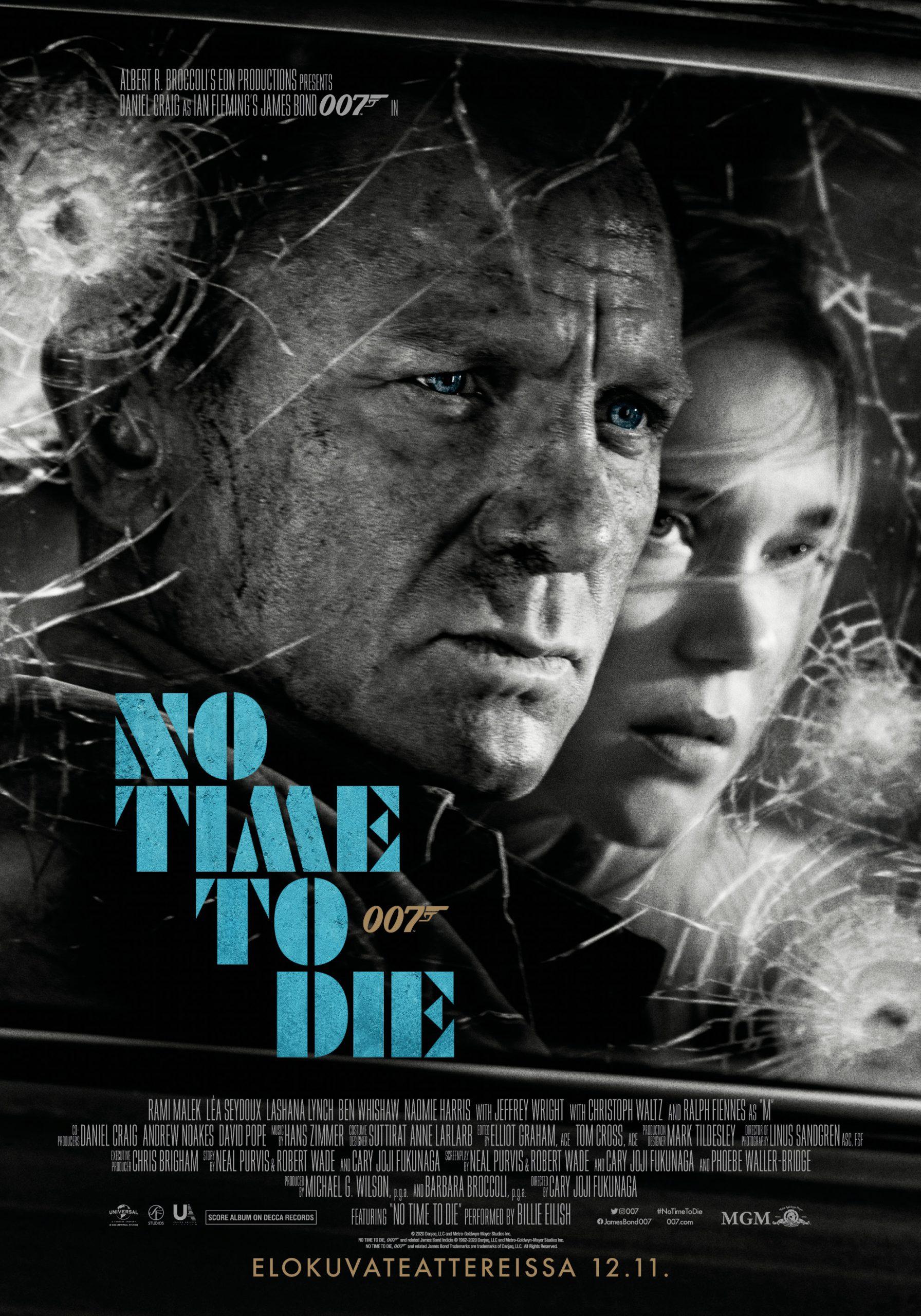 Daniel Craig palaa James Bondin rooliin elokuvassa 007 No Time to Die Kangasala-talon K-Kinossa syksyllä 2021.