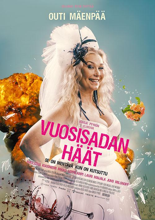 Komedia Vuosisadan häät Kangasala-talon K-Kinossa lokakuussa 2021.