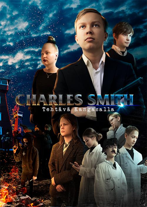 Jännittävä agenttiseikkailu Charles Smith - Tehtävä Kangasalla K-Kinossa Kangasala-talossa syksyllä 2021.
