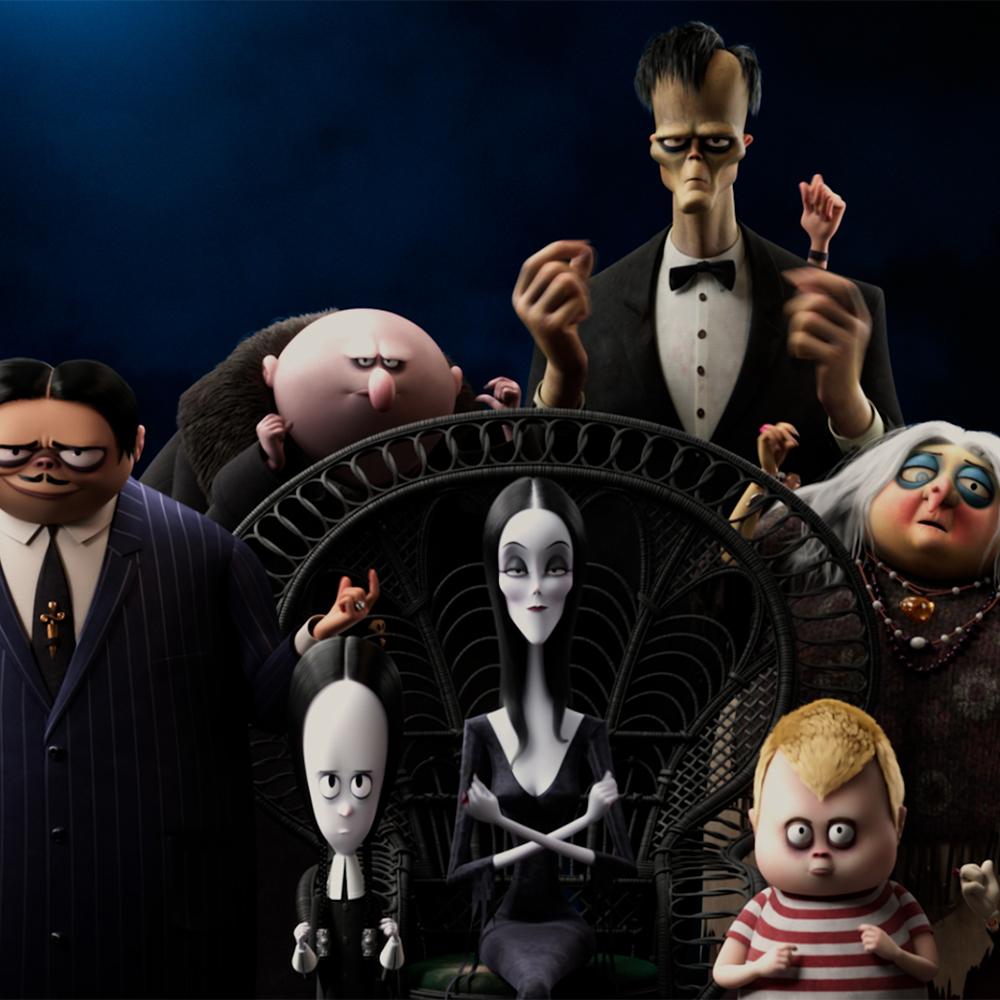 Rakastetun Perhe Addamsin jatko-osa Perhe Addams 2 Kangasala-talon K-Kinossa lokakuussa 2021.