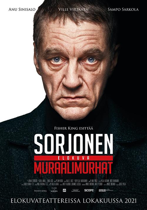Suosittu rikosdraamasarja Sorjonen siirtyy valkokankaalle elokuvassa Sorjonen: Muraalimurhat Kangasala-talon K-Kinossa syksyllä 2021.